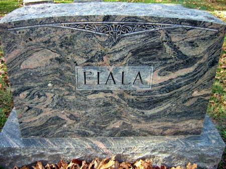FIALA, FAMILY STONE - Linn County, Iowa | FAMILY STONE FIALA