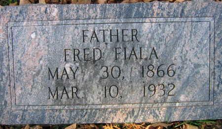 FIALA, FRED - Linn County, Iowa | FRED FIALA
