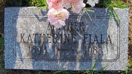 FIALA, KATHERINE - Linn County, Iowa   KATHERINE FIALA