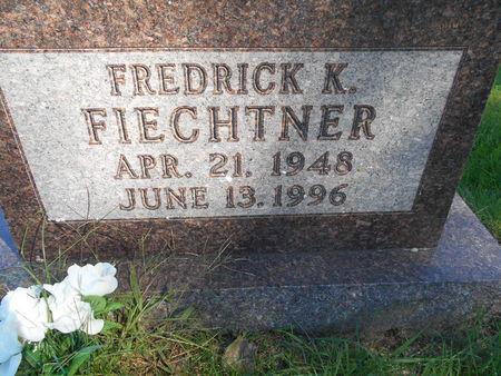 FIECHTNER, FREDRICK K. - Linn County, Iowa | FREDRICK K. FIECHTNER