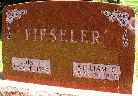 FIESELER, WILLIAM G. - Linn County, Iowa | WILLIAM G. FIESELER