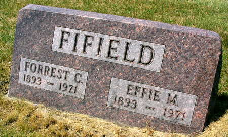 FIFIELD, EFFIE M. - Linn County, Iowa | EFFIE M. FIFIELD