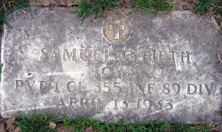 FIFTH, SAMUEL C. - Linn County, Iowa   SAMUEL C. FIFTH
