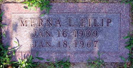 FILIP, MERNA L. - Linn County, Iowa | MERNA L. FILIP
