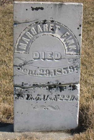 FINK, MARGARET - Linn County, Iowa | MARGARET FINK