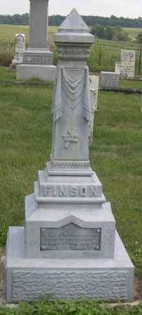 FINSON, FAMILY STONE - Linn County, Iowa   FAMILY STONE FINSON