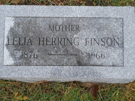 HERRING FINSON, LELIA - Linn County, Iowa | LELIA HERRING FINSON