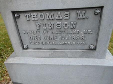 FINSON, THOMAS M. - Linn County, Iowa | THOMAS M. FINSON