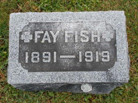 FISH, FAY - Linn County, Iowa | FAY FISH