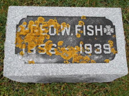FISH, GEO. W.   (GEORGE W) - Linn County, Iowa   GEO. W.   (GEORGE W) FISH