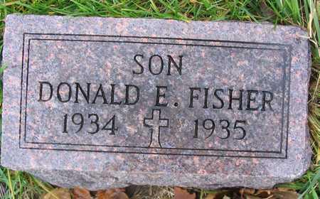 FISHER, DONALD E. - Linn County, Iowa | DONALD E. FISHER