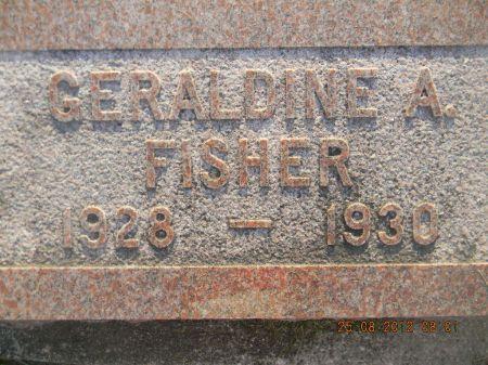 FISHER, GERALDINE A. - Linn County, Iowa | GERALDINE A. FISHER