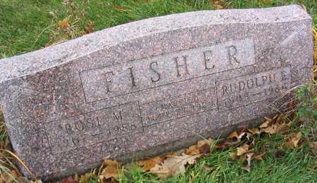FISHER, ROSE M. - Linn County, Iowa | ROSE M. FISHER