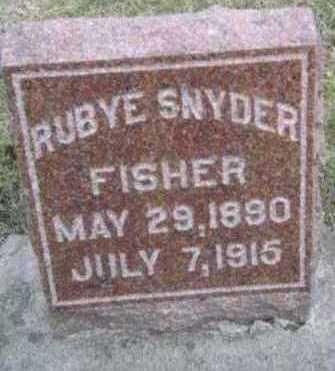 FISHER, RUBYE - Linn County, Iowa | RUBYE FISHER