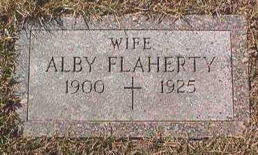 FLAHERTY, ALBY - Linn County, Iowa | ALBY FLAHERTY