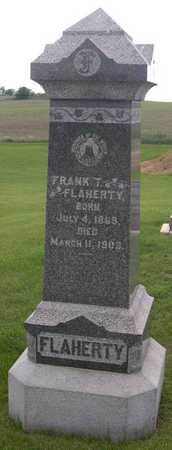 FLAHERTY, FRANK T. - Linn County, Iowa | FRANK T. FLAHERTY