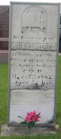 FLAHERTY, JOHN - Linn County, Iowa   JOHN FLAHERTY