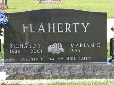 FLAHERTY, RICHARD T. - Linn County, Iowa   RICHARD T. FLAHERTY