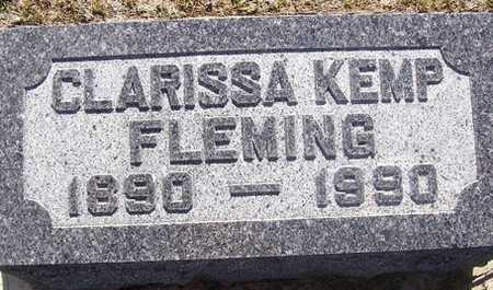 KEMP FLEMING, CLARISSA - Linn County, Iowa | CLARISSA KEMP FLEMING