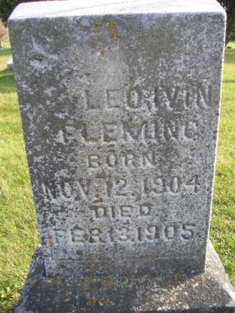 FLEMING, LEO IVIN - Linn County, Iowa | LEO IVIN FLEMING