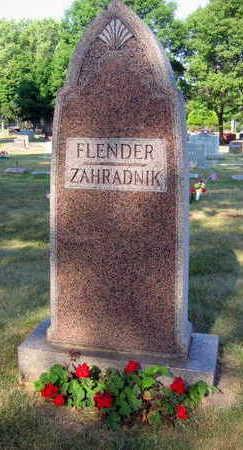 FLENDER ZAHRADNIK, FAMILY STONE - Linn County, Iowa | FAMILY STONE FLENDER ZAHRADNIK