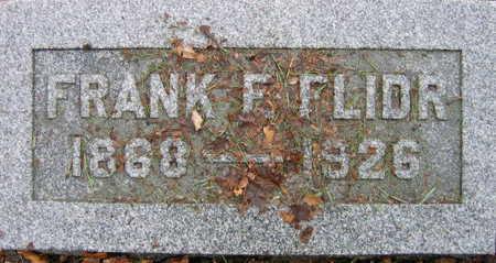 FLIDR, FRANK F. - Linn County, Iowa | FRANK F. FLIDR