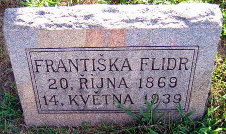 FLIDR, FRANTISKA - Linn County, Iowa   FRANTISKA FLIDR
