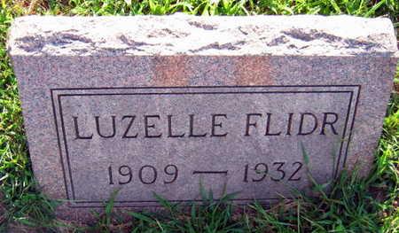FLIDR, LUZELLE - Linn County, Iowa   LUZELLE FLIDR