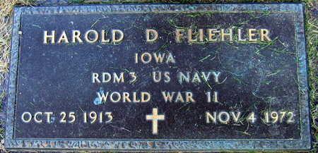 FLIEHLER, HAROLD D. - Linn County, Iowa   HAROLD D. FLIEHLER