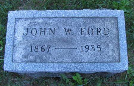 FORD, JOHN W. - Linn County, Iowa   JOHN W. FORD