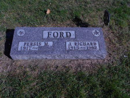FORD, J RICHARD - Linn County, Iowa   J RICHARD FORD