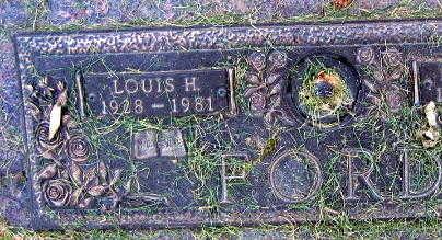 FORD, LOUIS H. - Linn County, Iowa   LOUIS H. FORD