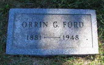 FORD, ORRIN G - Linn County, Iowa | ORRIN G FORD
