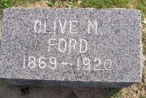FORD, OLIVE M. - Linn County, Iowa | OLIVE M. FORD
