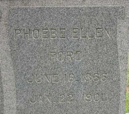 FORD, PHOEBE ELLEN - Linn County, Iowa | PHOEBE ELLEN FORD