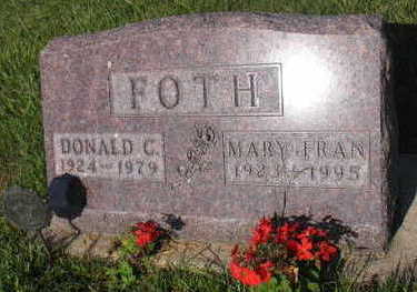FOTH, MARY FRAN - Linn County, Iowa | MARY FRAN FOTH