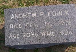 FOULK, ANDREW R. - Linn County, Iowa   ANDREW R. FOULK