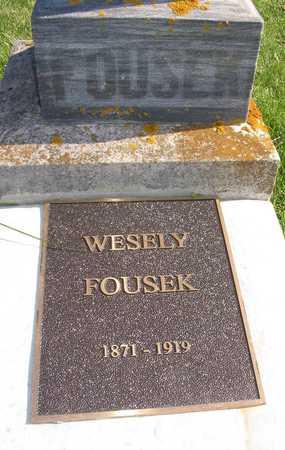 FOUSEK, WESELY - Linn County, Iowa | WESELY FOUSEK