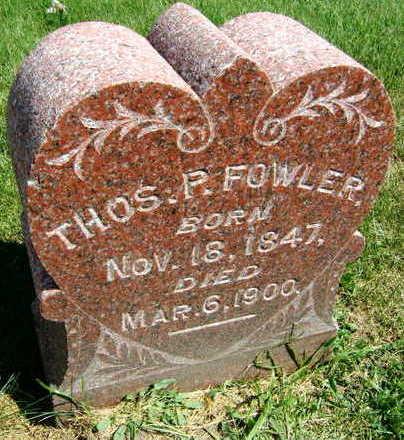 FOWLER, THOMAS P. - Linn County, Iowa | THOMAS P. FOWLER