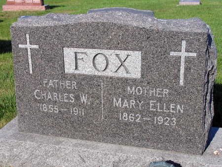 FOX, MARY ELLEN - Linn County, Iowa | MARY ELLEN FOX