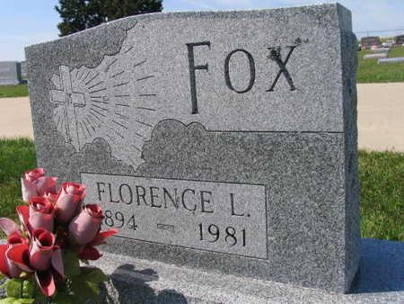 FOX, FLORENCE L. - Linn County, Iowa | FLORENCE L. FOX