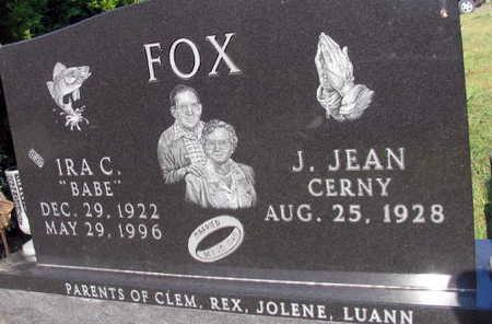 FOX, IRA C.