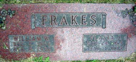 FRAKES, VLASTA J. - Linn County, Iowa | VLASTA J. FRAKES