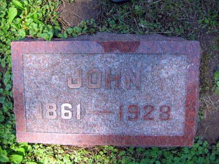 FRANA, JOHN - Linn County, Iowa   JOHN FRANA