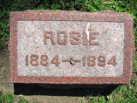 FRANA, ROSIE - Linn County, Iowa   ROSIE FRANA