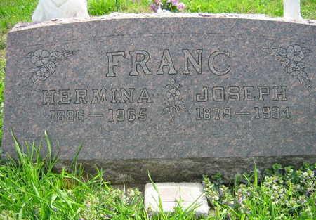 FRANC, HERMINA - Linn County, Iowa | HERMINA FRANC