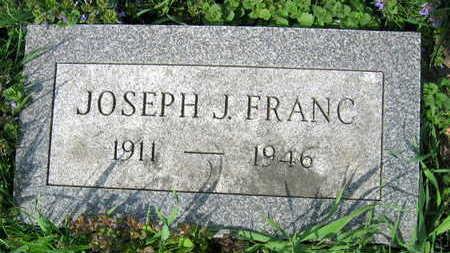 FRANC, JOSEPH J. - Linn County, Iowa   JOSEPH J. FRANC