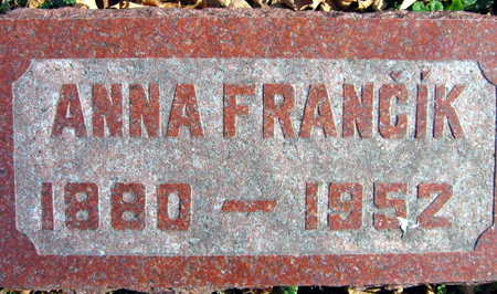 FRANCIK, ANNA - Linn County, Iowa | ANNA FRANCIK