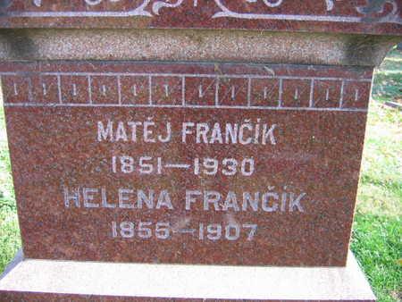FRANCIK, HELENA - Linn County, Iowa | HELENA FRANCIK