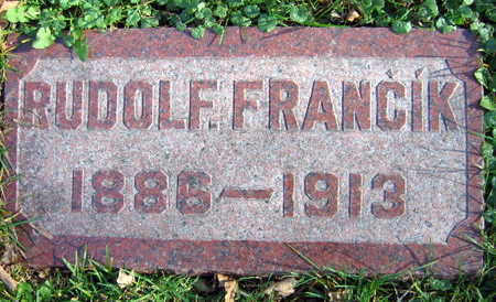 FRANCIK, RUDOLF - Linn County, Iowa | RUDOLF FRANCIK